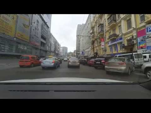 Driving in Kiev, Ukraine [5]
