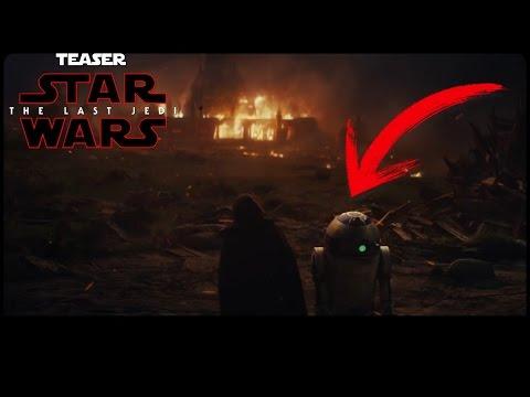Star Wars The Last Jedi Teaser Trailer Analisis En Español - Jeshua Revan