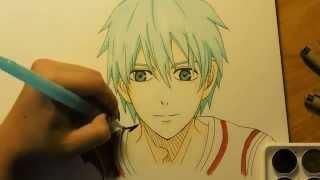 Drawing Kuroko from Kuroko no Basuke (Knb)
