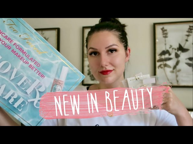 NEW IN BEAUTY | FIRST IMPRESSIONS WITH PR PACKAGES | adaatude