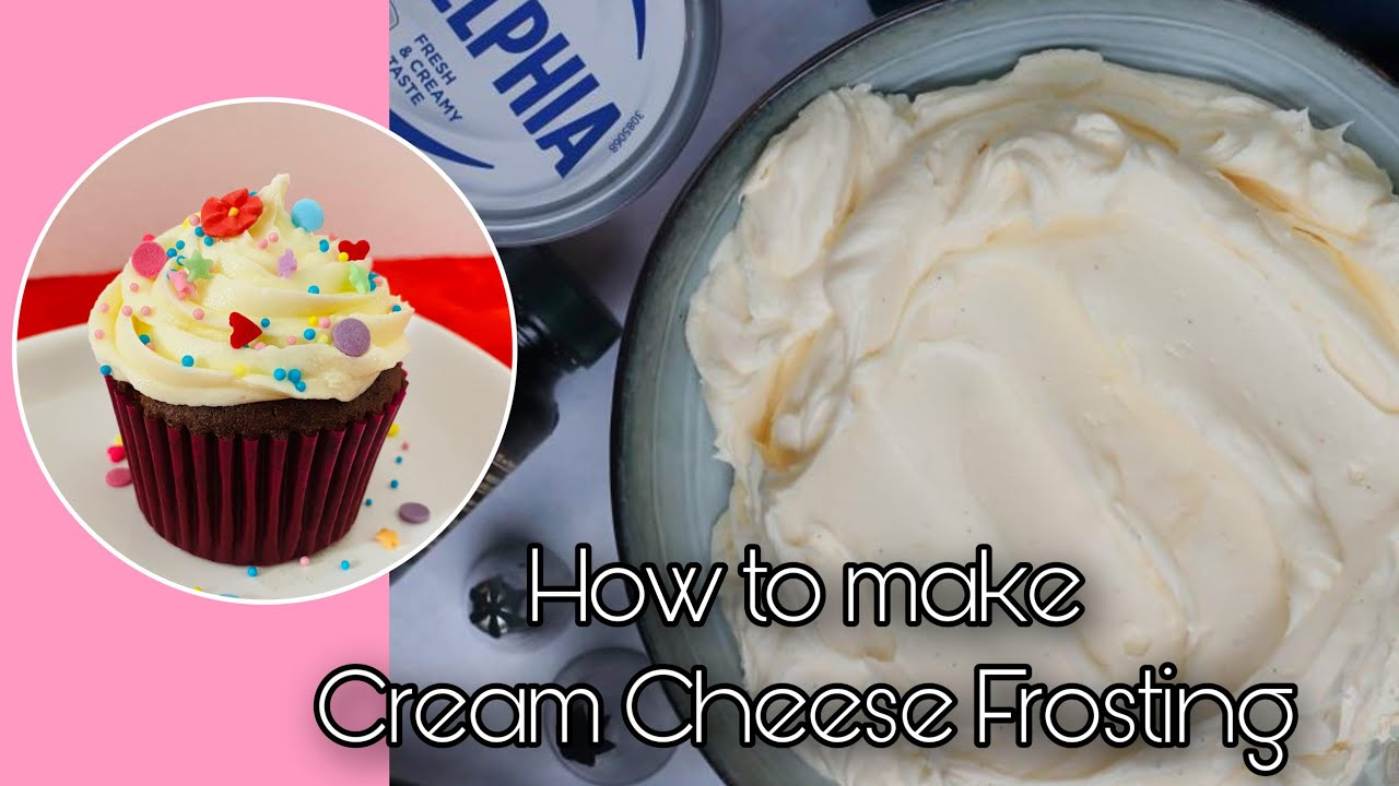 How to make the Best Cream Cheese Frosting | Cream Cheese Frosting Recipe | Gateau Kitchentube