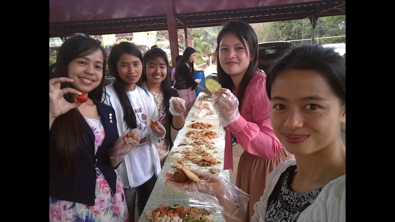 Second Youth Camp 2019-SDARM: Cooking and Meal time, Boodle fight-Compiled Videos