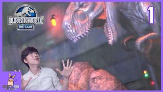 나만의 강력한 공룡 키우기! 말이야 공룡 공원 1탄 ♡ [쥬라기 월드: 더 게임] 모바일 게임 Jurassic World Game   말이야와게임들 MariAndGames