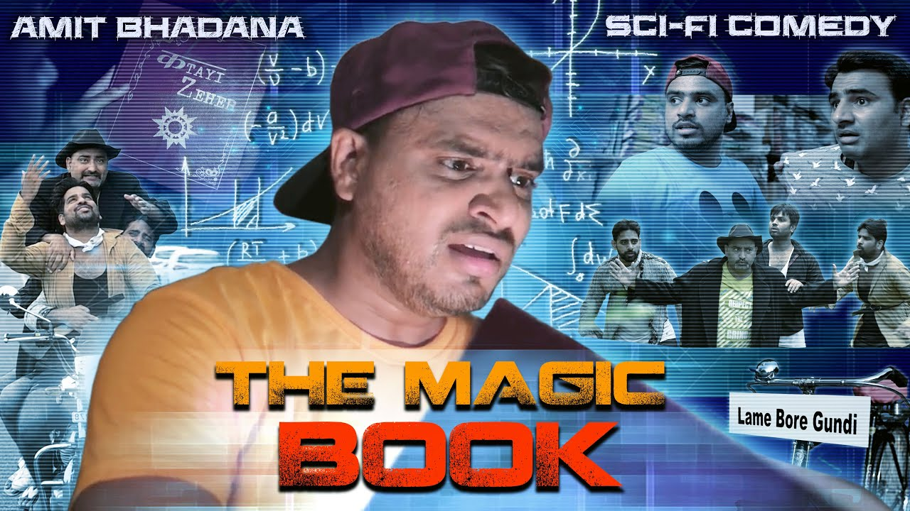 The Magic Book - Amit Bhadana - Sci-Fi Comedy ( Katayi Zeher )