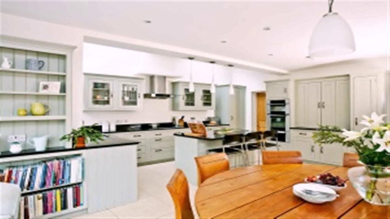Living Room And Kitchen Divider Design