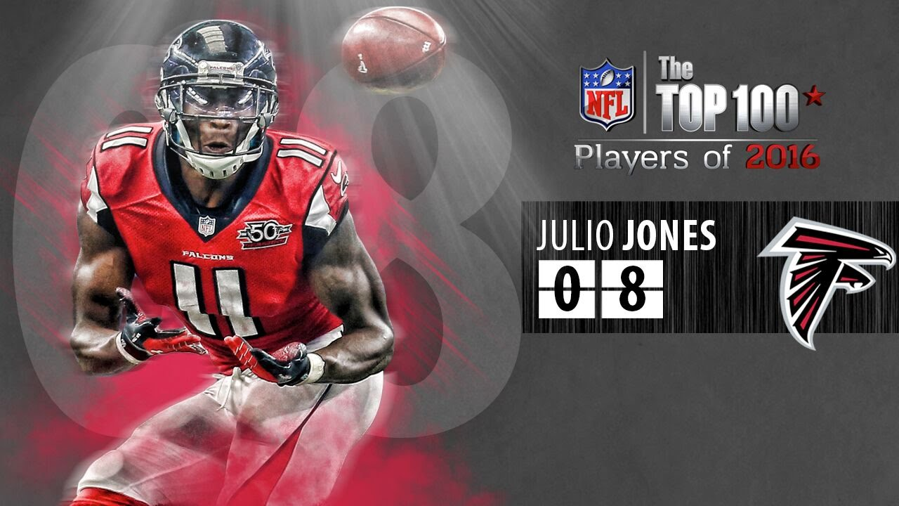 08 Julio Jones WR Falcons