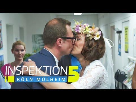 Hochzeit auf der Polizeiwache! Wie kam das denn? | Inspektion 5 | SAT.1 TV