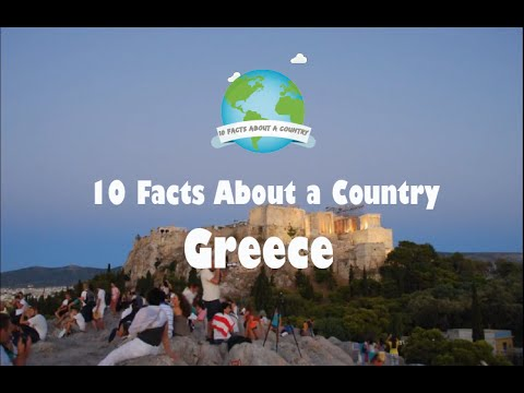 10 Facts About a Country  Greece
