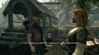 The Elder Scrolls V: Skyrim Special Edition (PS4) 01 Imperial Pacifist Escapes Execution