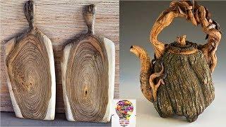 Wyjątkowe pomysły i inspiracje z drewna #3