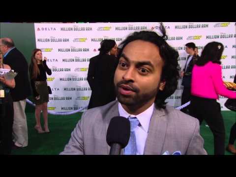 """Million Dollar Arm: Pitobash """"Amit (Deepesh Solanki)"""" Movie Premiere Interview"""