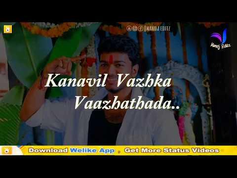 Whatsapp status tamil video   Motivation song   Hey vaada vaada
