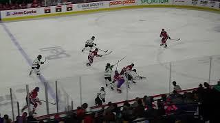 The final minute of Markham Thunder vs. Les Canadiennes de Montreal 2/23/19