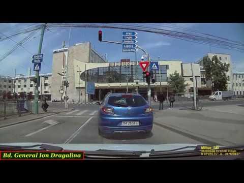 Driving In Timişoara: Calea Şagului - Piaţa Iosefin - Bd. Cetăţii - Calea Aradului (May 9, 2020)