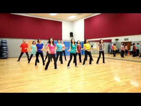 Tell Your Heart To Beat Again - Line Dance (Dance & Teach in English & 中文)