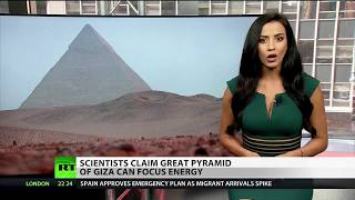 Pyramid of Giza Has Own Energy Source
