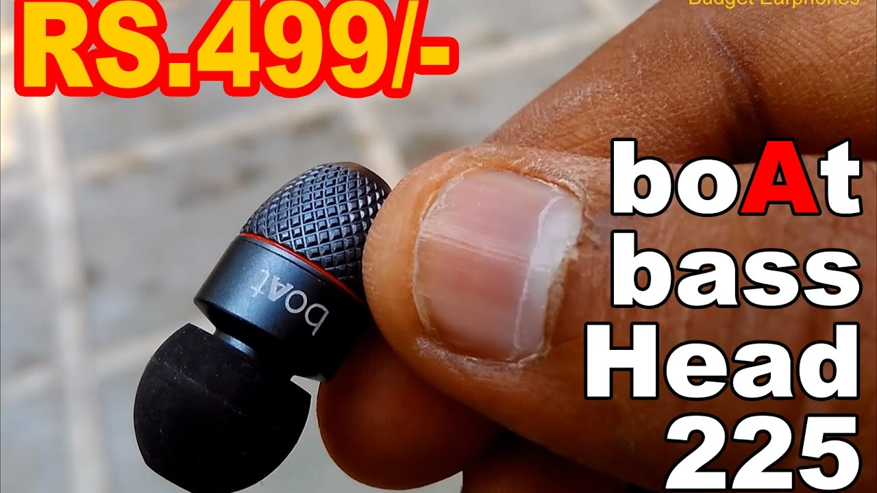 b0a8bdf2045 [ HINDI ] boAt BassHeads 225 In Ear Super Extra Bass Earphones - Review !  Worth your money ? - YouTube