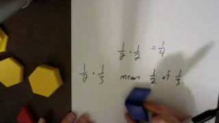 Multiplying Fractions With Pattern Blocks