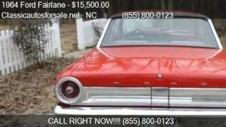 1964 Ford Fairlane Sport for sale in Nationwide, NC 27603 at #VNclassics