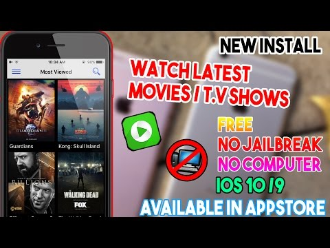 New Install 123 Movies/ Watch Movies & T.V Shows Free (NO JAILBREAK/COMP) IOS 10/9 IPhone/iPod/iPad