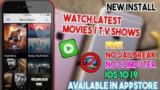 New Install 123 Movies/ Watch Movies & T.V Shows Free (NO JAILBREAK/COMP) IOS 10/9 IPhone/iPod/iPad