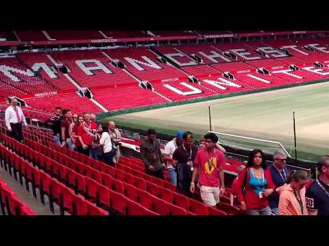 LATEST 2017 Manchester United Old Trafford Stadium ACTUAL FULL TOUR in HD 40+ minutes