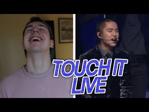EXO - TOUCH IT LIVE (KBS MUSIC FESTIVAL 2017) REACTION!!!
