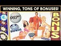 ★NEW SLOT★ JAMES BOND - THUNDERBALL SLOT MACHINE! Mr. CT takes on 007 and WINS!