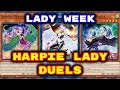 Yugioh - Lady Week - Harpie Ladies Duels (Deck Download In Description)