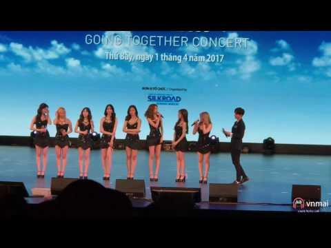 Full 170401 SNSD @ Going Together Concert in Hanoi Vietnam
