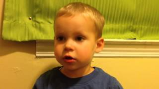 two year old sings the fresh prince of bel air theme song