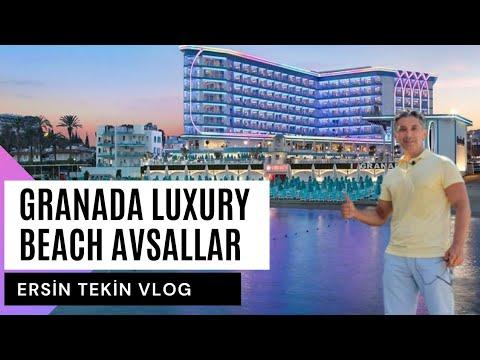 GRANADA LUXURY BEACH AVSALLAR. Modern Ve Lüks Yapısı,  Ince Kumlu Plajı Ve Eğlenceli Ortamı Ile...