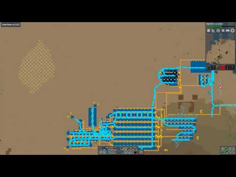 Factorio base in a box 4 - trains and natives