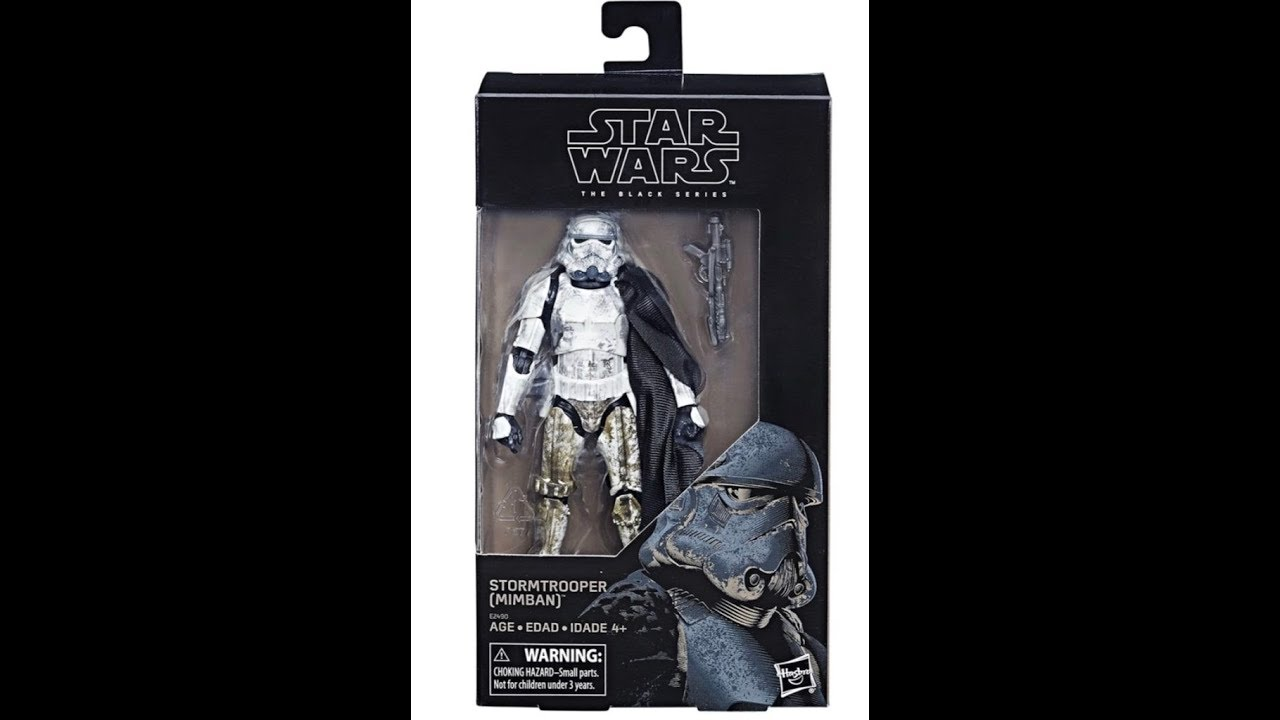 Star Wars Black Series 6-inch Figure Mimban Stormtrooper Wal-Mart Exclusive