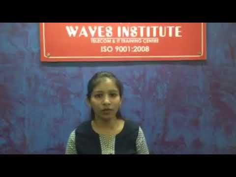 Waves Institute Pune  Telecom Training   Placed Student Reviews