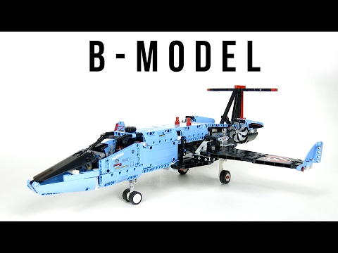 LEGO Technic 42066-B Private Jet | Demo