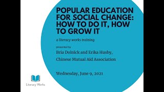 Popular Education How to Do It How to Grow It