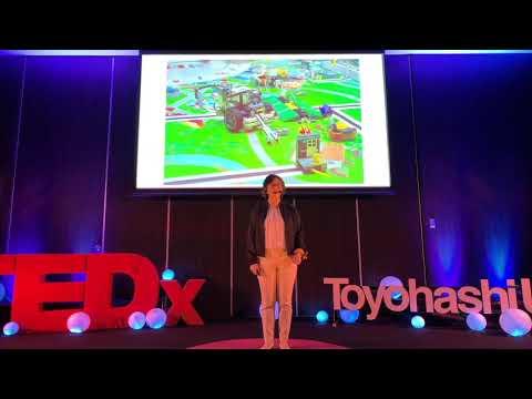 TEDx Talks: 楽園での幸せな生活から一転悲しみの底に沈みながらも、前を向いて人生を歩むヒント | 礼美子 マーティンセン | TEDxToyohashiUT