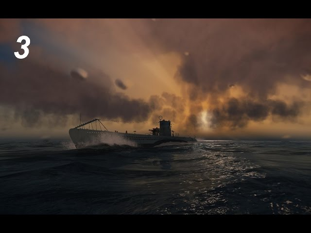 Silent Hunter 5 Battle of the Atlantic, часть 3