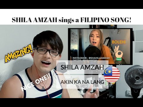 [REACTION] KAKATUWA NAMAN! SHILA AMZAH sings AKIN KA NA LANG by Morissette AMon | #JANGReacts