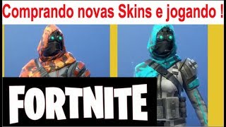 FORTNITE PT BR Buying new skins perception and shooting long playing Gameplay on line