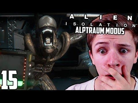 Lass mich in RUHE ! | Alien Isolation (Alptraum Modus) #15 | [Deutsch/German]
