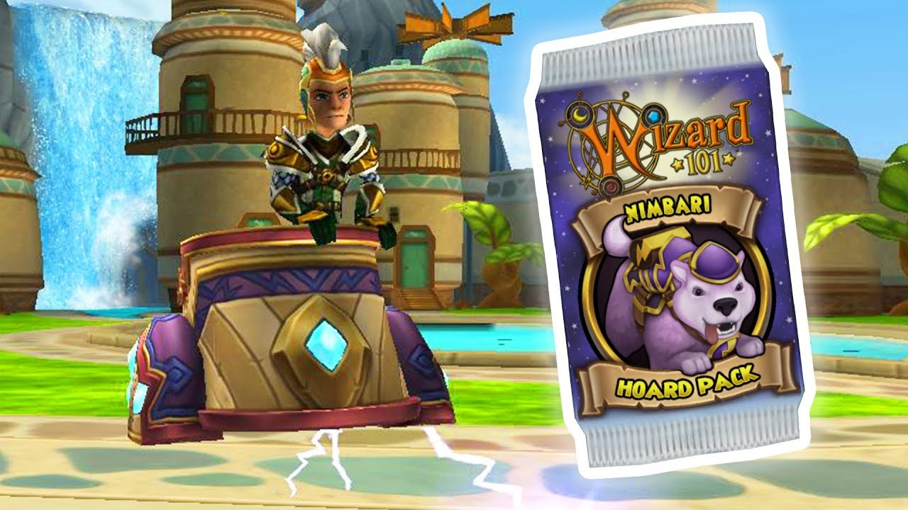 Wizard101: I KNOW I'M LATE, LET'S DO THIS!! - NEW Nimbari Hoard Pack Opening