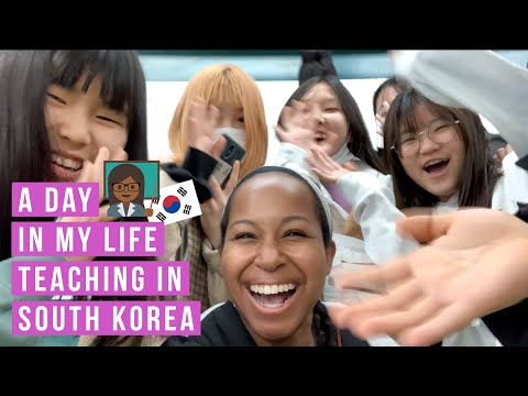 A DAY IN THE LIFE // English teacher in South Korea (EPIK)