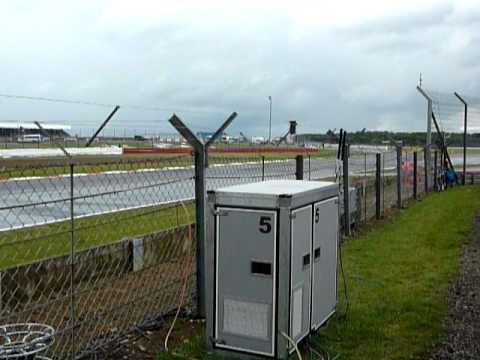 2011 British Grand Prix - Hangar Straight - Practice 2