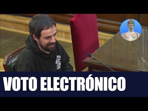 Juicio Proces - Voto electronico - Vicent Nos - Quim Franquesa