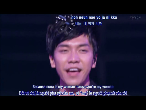 [Viet/Eng + Kara] Because you're my woman - Lee Seung Gi