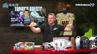 The Pat McAfee Show | Thursday October 15th, 2020