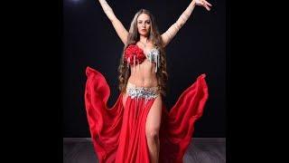 Beautiful Arabic dance video clip belly dance desert safari