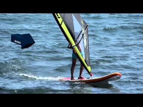 How to do a faster jibe? The Black Team Academy - Beginner Windsurfing